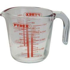 Buy Pyrex 0.5 Litre Glass Measuring Jug at Argos.co.uk - Your Online Shop for Baking equipment.