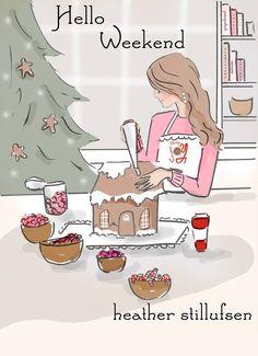 Vrijdag 9 december 2016 * RoseHillDesigns by Heather Stillufsen