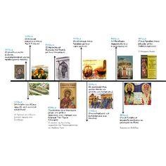Μια διαφορετική ιστορική γραμμή, φτιαγμένη από τα ίδια τα παιδιά, τους μαθητές του Γιάννη Σταράκη , τον οποίο θέλω να ευχαριστήσω,... Grammar Exercises, Material Board, Greek Language, Greek History, Cerebral Palsy, School Psychology, Fractions, Mythology, Projects To Try