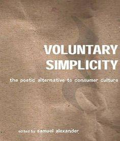 voluntary simplicity - samuel alexander