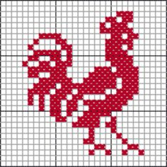 chicken, goose, rooster, turkey, farm chart cross-stitch or filet crochet – BuzzTMZ Chicken Cross Stitch, Cross Stitch Sea, Cross Stitch Boards, Cross Stitching, Cross Stitch Embroidery, Embroidery Patterns, Cross Stitch Designs, Cross Stitch Patterns, Crochet Birds