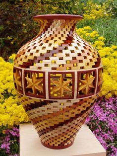 Segmented Vases | Bill Robinson - Segmented Woodturner ~ Gallery ~ Open ...
