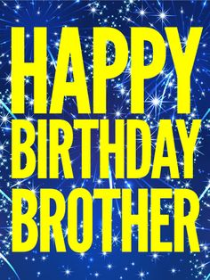Send Free You Rock Brother! Happy Birthday Card to Loved Ones on Birthday & Greeting Cards by Davia. It's free, and you also can use your own customized birthday calendar and birthday reminders. Happy Birthday Brother Wishes, Happy Birthday Theme, Birthday Wishes For Brother, Birthday Quotes For Him, Birthday Wishes For Myself, Happy Birthday Pictures, Happy Birthday Greetings, Birthday Messages, Birthday Greeting Cards