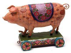 Best Quality- Jim Shore Pig on Cart by Quality, http://www.amazon.com/dp/B005AXPCO6/ref=cm_sw_r_pi_dp_YXlKqb1DY1KM8