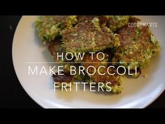 'Fritters' are an easy (and fun!) way to In this video we show you how to do it with broccoli, but you can also try it with cauliflower, car. How To Make Broccoli, Broccoli Fritters, Parmesan Broccoli, Vegetable Ideas, Healthy Superbowl Snacks, Cauliflower, Beef, Vegetables
