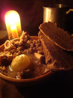 Mutton and Bread with the Night's Watch...awesome website with medieval food and recipes based on Game of Thrones series