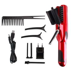 Professional  Hair  Ends Split   Ender Wireless Trimmer Hair Styler Revo Styler Automatic Electric Straight Hair Comb -- BuyinCoins.com