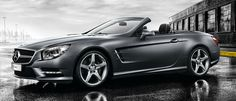 Mercedes-Benz SL-Class. Even when it is stationary, its looks alone have the power to move you.