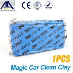 Magic camión Clean Car Barra de la Arcilla Auto Cleaner Lavadora Del Coche Azul 3 M Barra de Limpieza