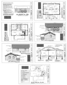 pallet House plans Pallet House Plans, Shed Floor Plans, Cabin Plans, Small House Plans, Modern Tiny House, Palette, Small Buildings, House Blueprints, Pallet Creations
