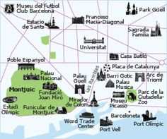 tourist map for barcelona » Path Decorations Pictures | Full Path ...