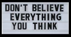 Don´t Believe
