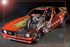 'Ghosted' BRUTUS Funny Car