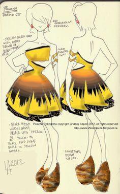 Pikachu dress by Lindsay