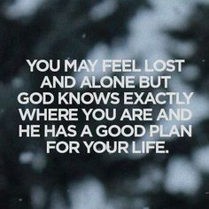 A good plan for your life!