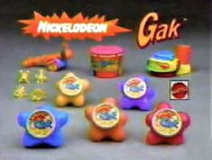 90s toy - When I was a kid, I played with Gak. When I was a teen, I listened to Gackt. My mom called him Gak lol. Made me miss it.