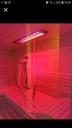 Tiefenwärme können Sie nicht nur in der Infrarotkabine,  sondern auch in der Sauna genießen.   Der Infrarotstrahler Infrarotmed ist IPX-4 spritzwassergeschützt und kann daher in der Sauna eingebaut werden.  By Gurtner Wellness GmbH  www.gurtner-infrarot.at Neon Signs, Wellness, Infrared Heater, Built Ins