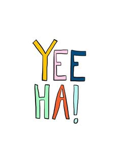 Yee ha! | Studio Stationery [Original post in Dutch]