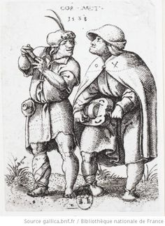 Mendiants C. Metsys (1466-1530)
