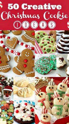 50 Christmas Cookie Ideas..