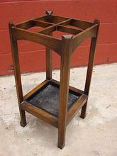 American Antique Mission Arts and Crafts Umbrella Stand