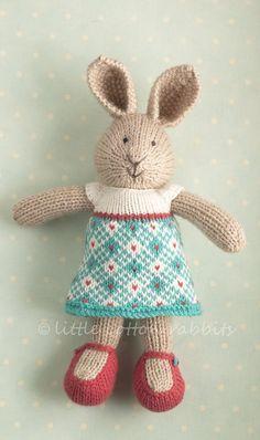 knit bunny pattern - Tìm với Google