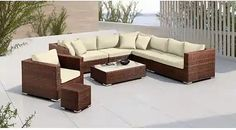 Záhradné sety – až 1067 záhradných sedačiek a zostáv pre vás | Biano Outdoor Sectional, Sectional Sofa, Outdoor Furniture, Outdoor Decor, Home Decor, Modular Couch, Decoration Home, Room Decor, Corner Sofa