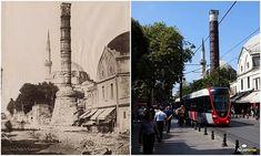 120 yıl önce ve şimdi Çemberlitaş.