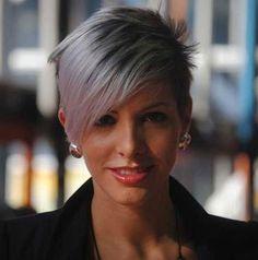Fotos Graues Haar Kurze Frisuren Schauen Sie sich die grauen Haare kurze Frisuren entwickelt, um Sie vollständig zu geben, eine Erfr...