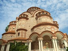 The Church in Nea Moudania, Chalkidiki, Greece