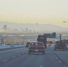 Heading to Las Vegas.