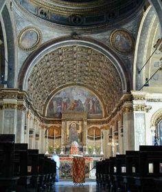 Chiesa di Santa Maria presso San Satiro (decorated and designed by Bramante), Milan.