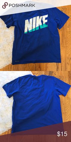 Nike drifit tee shirt! Great condition! Size Large Nike drifit tee shirt! Great condition! Size Large Nike Tops Tees - Short Sleeve
