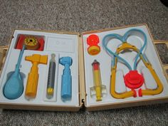 These were awesome...Who didn't have a sibling put the stethoscope on and then yell into the end piece?  I am surprised we can still hear...