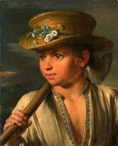 Vasily Andreyevich Tropinin (1776 – 1857, Russian)