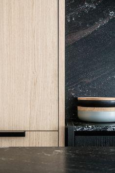 Kitchen detail - Residence G in Gent Belgium by Frederic Kielemoes Luxury Kitchen Design, Luxury Kitchens, Rustic Kitchen, Kitchen White, Kitchen Small, Kitchen Ideas, Kitchen Island, Kitchen Cabinets, Kitchen Appliances