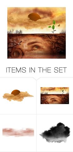 """""""Earth"""" by beet-1 ❤ liked on Polyvore featuring art"""