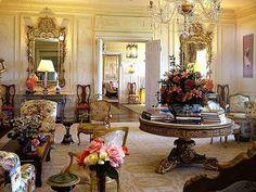 Grand Salon: Historic Fairholme Mansion in Newport, R.I.