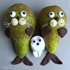 Food Artist Crafts Quirky Characters That Are Too Cute to Eat