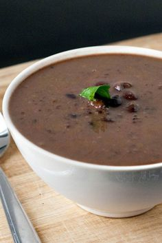 It's not summer yet, we can still totally eat  soup! Smoky Black Bean and Ham Soup Recipe!