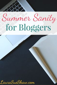Does your blog hit a slump in the summer months? You CAN keep up with blogging while still having an amazing summer. Check out these tips!