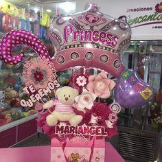 Bienvenida Princesa #Floristería #Tarjeteria #Regalos #peluches #ymas #cagua #callecomercio #dencantos