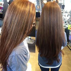 Some sun kissed highlights on this gorgeous client!