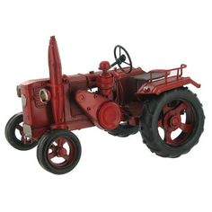 Red Metal Tractor | Hobby Lobby | 795559