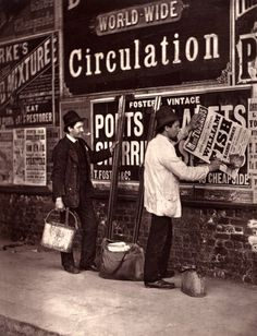 Street Life in London, 1876 (images courtesy of Bishopsgate Institute