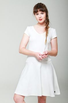 Khioma - made by hand for you Ivory Knit Dress S/Summer 2015