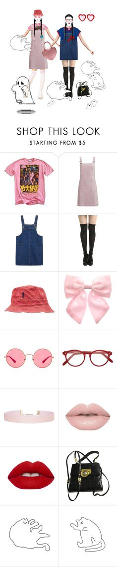 """""""Untitled #167"""" by ziyan-cai ❤ liked on Polyvore featuring Junk Food Clothing, Topshop, Polo Ralph Lauren, Pumpkin Patch, Ray-Ban, Cutler and Gross, Humble Chic and Versace"""