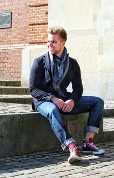 Outfit der Woche! Sakko: s.Oliver Premium - Shirt & Schal: Cinque – Jeans: PME Legend #ootw #fashion