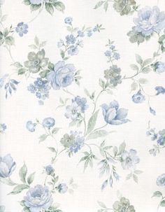 Blue and White Floral by Bnspyrd on DeviantArt