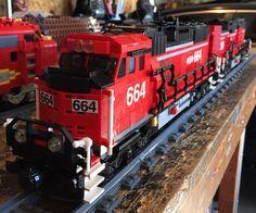 Lego GP60 Locomotive Consist